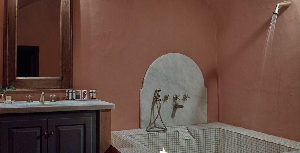 ... y con baño completamente equipado