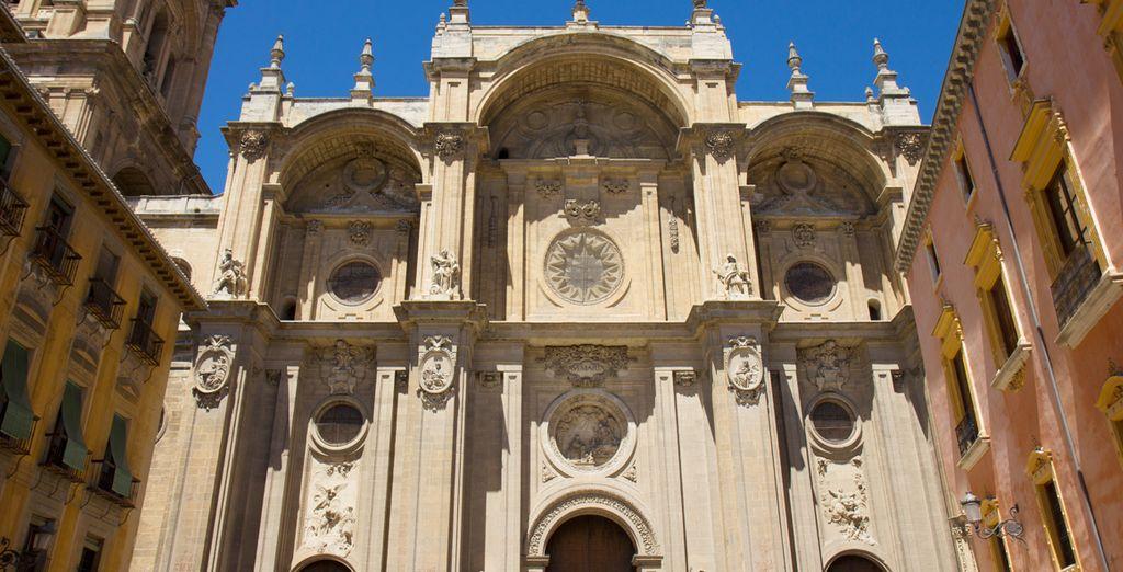Inspírate a los pies de la catedral