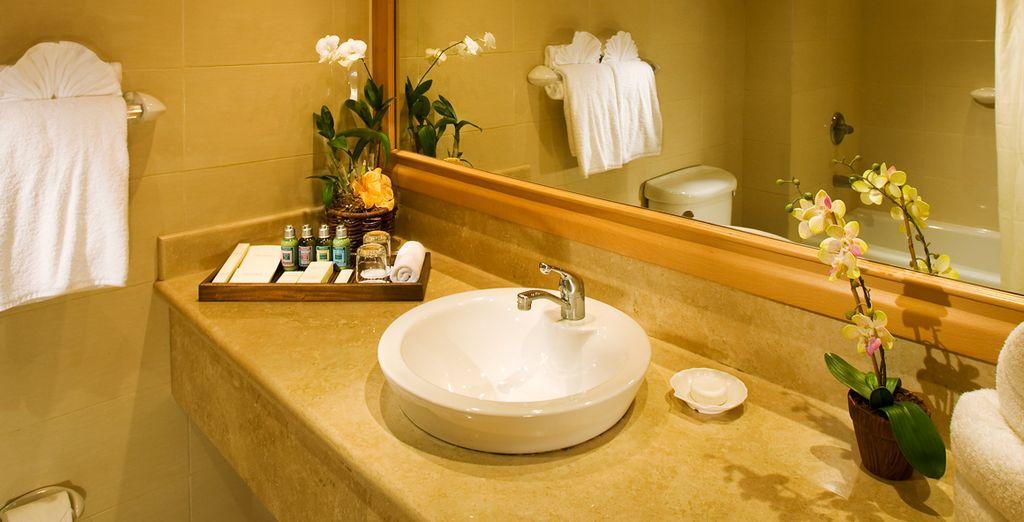 Con baño privado moderno