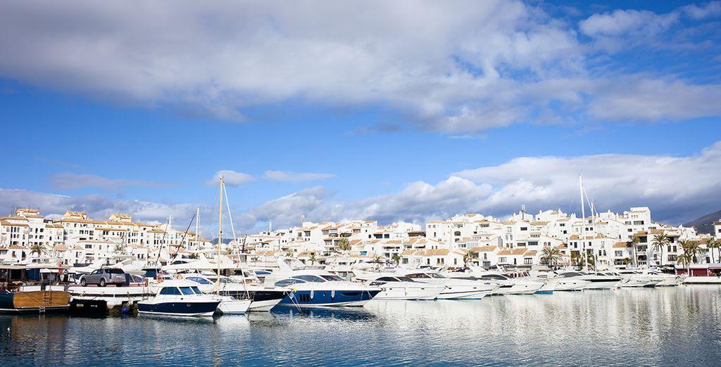 Acércate a conocer Marbella