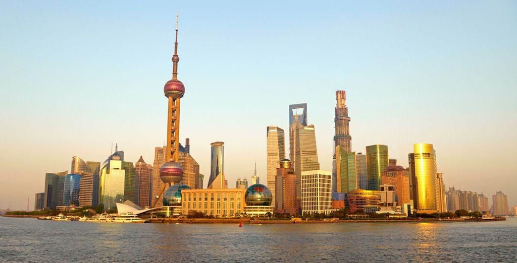 Conoce la espectacular ciudad de Shanghai