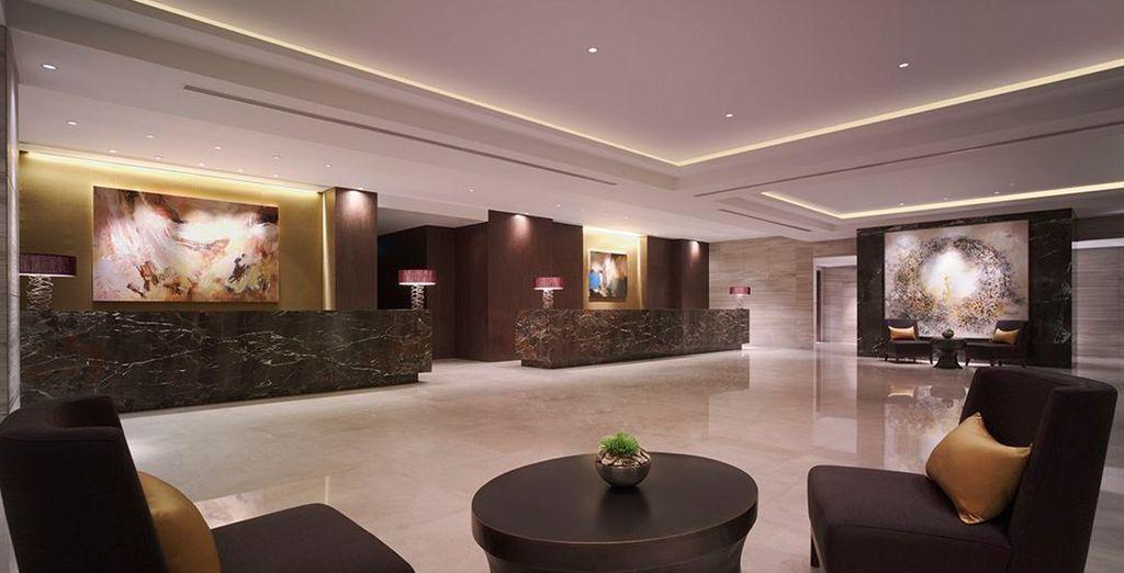 Tu estancia en Shanghai será en el Hotel New World 5*