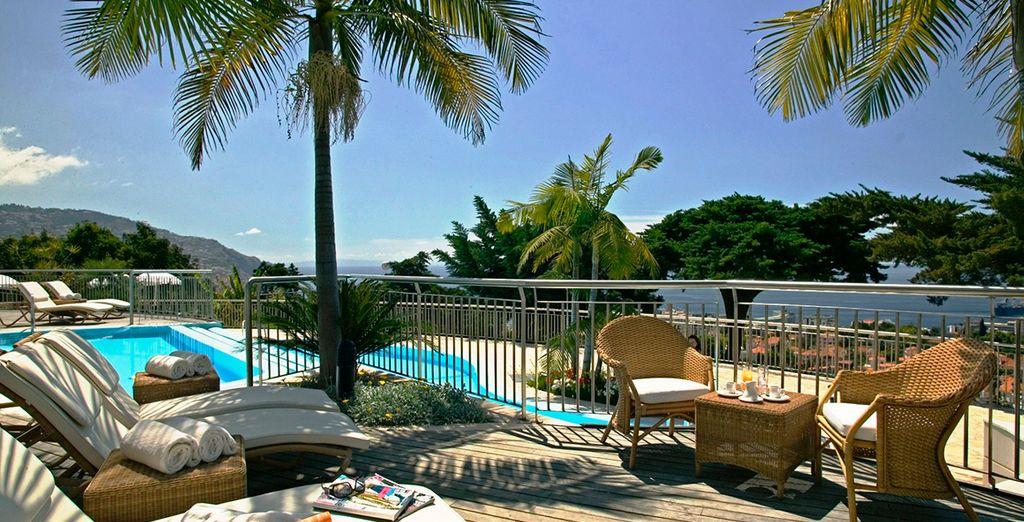 Disfruta del increíble clima de Madeira en Quinta das Vistas Palace Gardens 5*