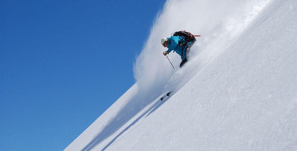 Practica tu deporte preferido de invierno
