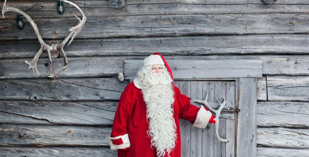 Podrás enviar las tarjetas postales desde la oficina principal de Papá Noel