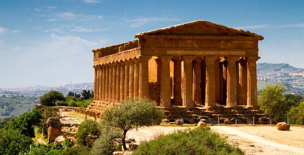 """Agrigento: """"La Ciudad más bella de los mortales"""