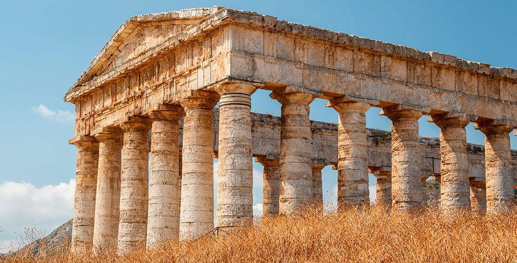 Conocerás el templo de Segesta