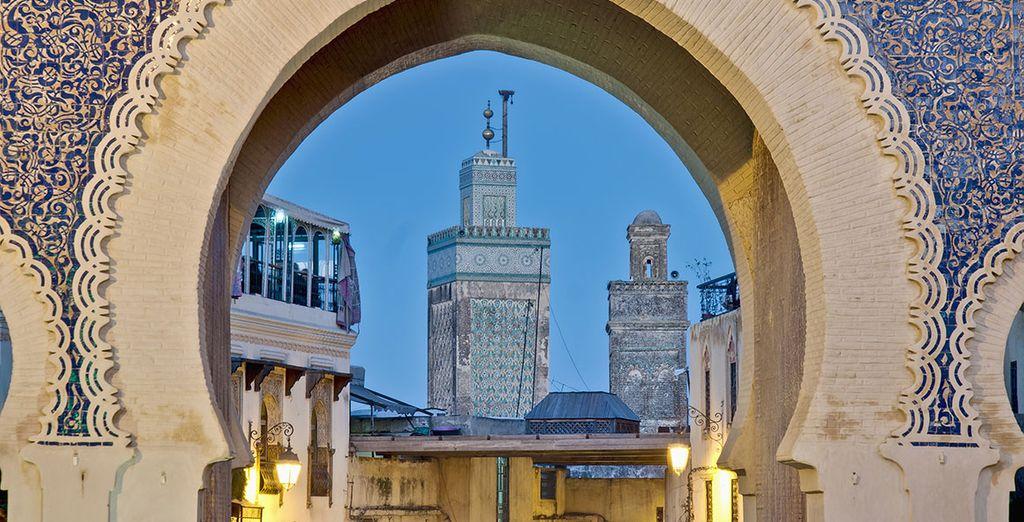 Famosa puerta de la Medina