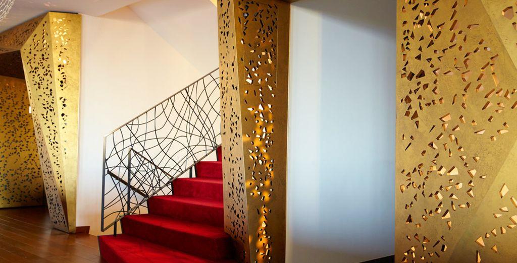Amplios espacios de diseño moderno