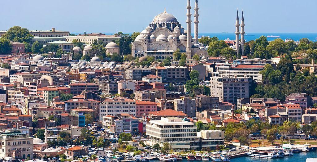 Estambul, una ciudad cosmopolta que aúna historia, modernidad y encanto