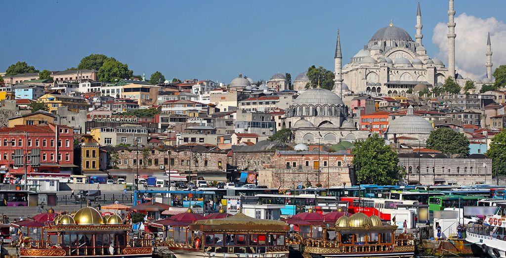 Fantásticas panorámicas de Estambul
