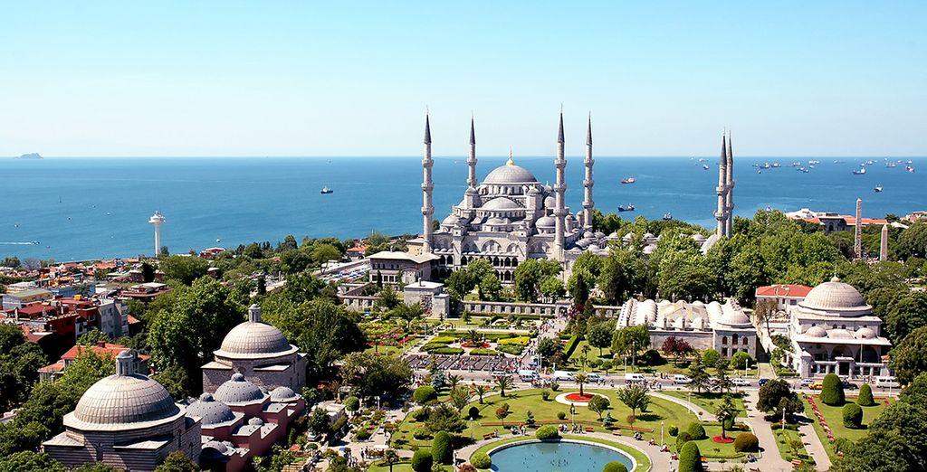 Ven a conocer la impresionante Estambul