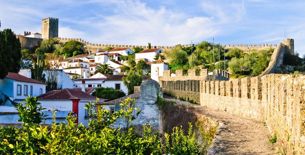 Una ciudad medieval, una tierra de tradición y leyenda
