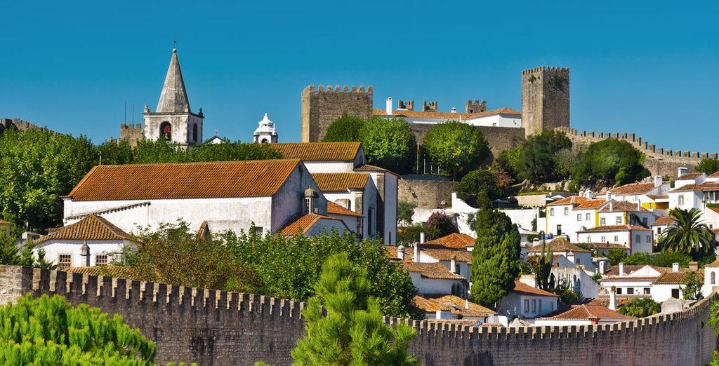 Descubre la localidad de Óbidos