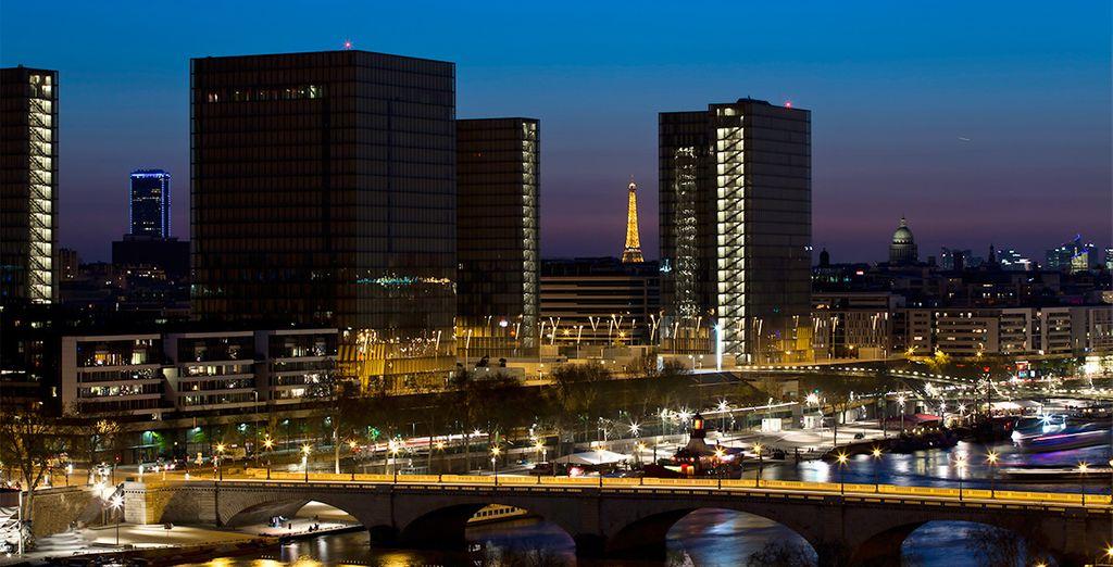Disfruta de increíbles vistas desde el Pullman París Centre Bercy