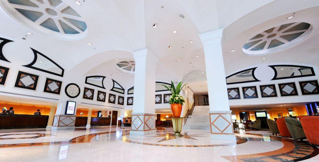 Un hotel moderno y elegante