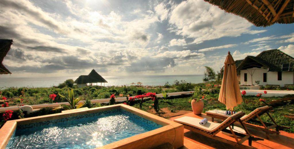 Disfruta de la terraza privada de tu Villa