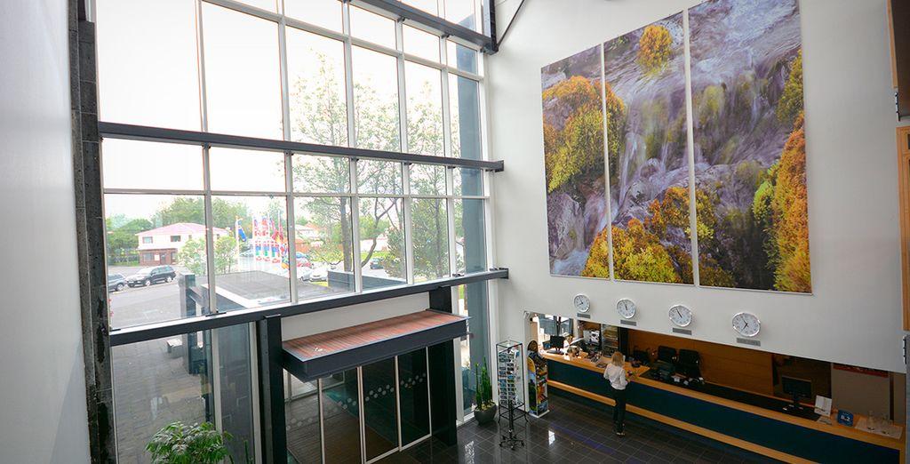 En Selfoss descansarás en Selfoss Hotel 4*