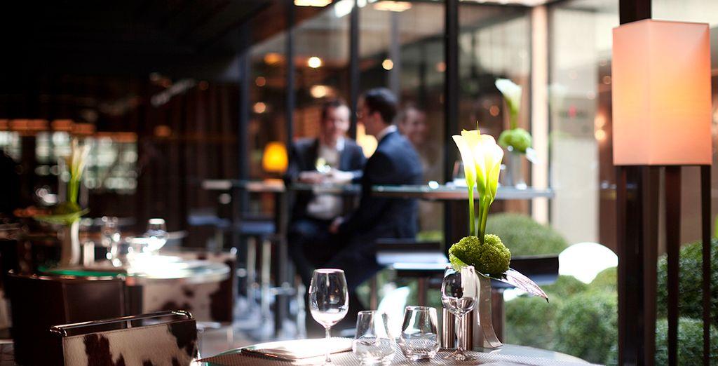 Disfruta de un 20% de descuento en el Restaurante