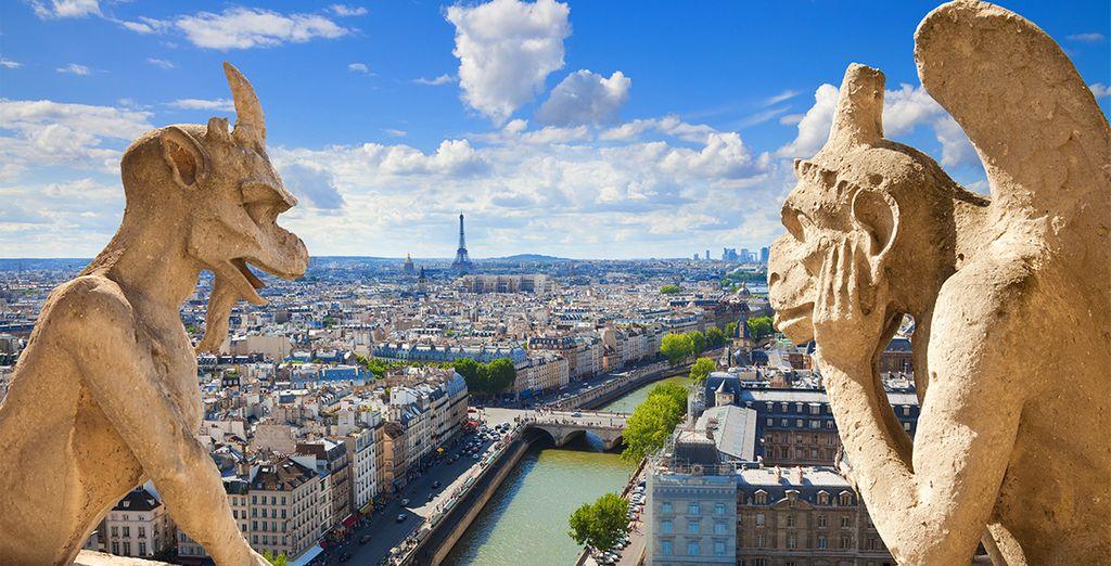 Las famosas gárgolas de la Catedral de Notre Dame