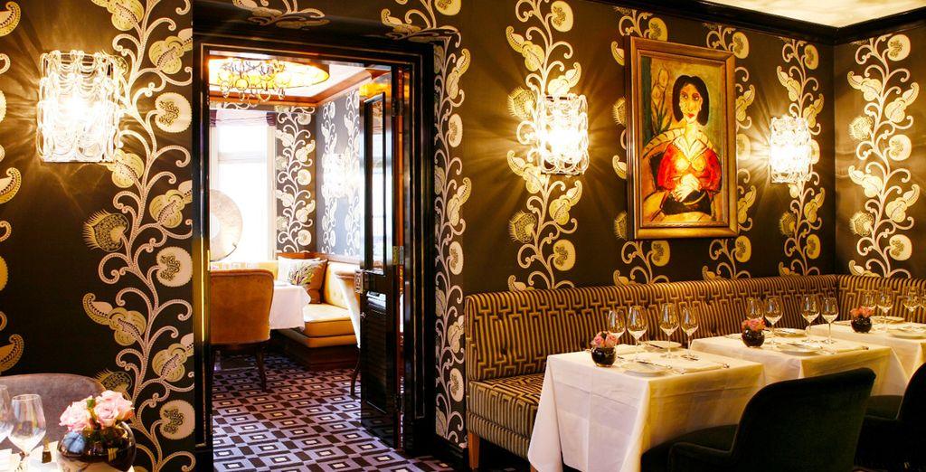 ... un restaurante galardonado con Estrella Michelín