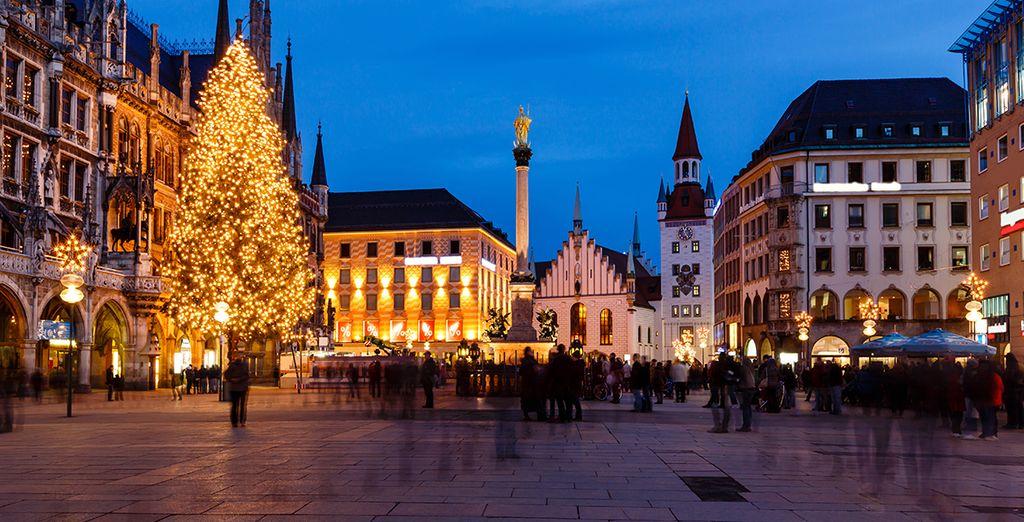 Una visita panorámica para descubrir la famosa Marienplatz