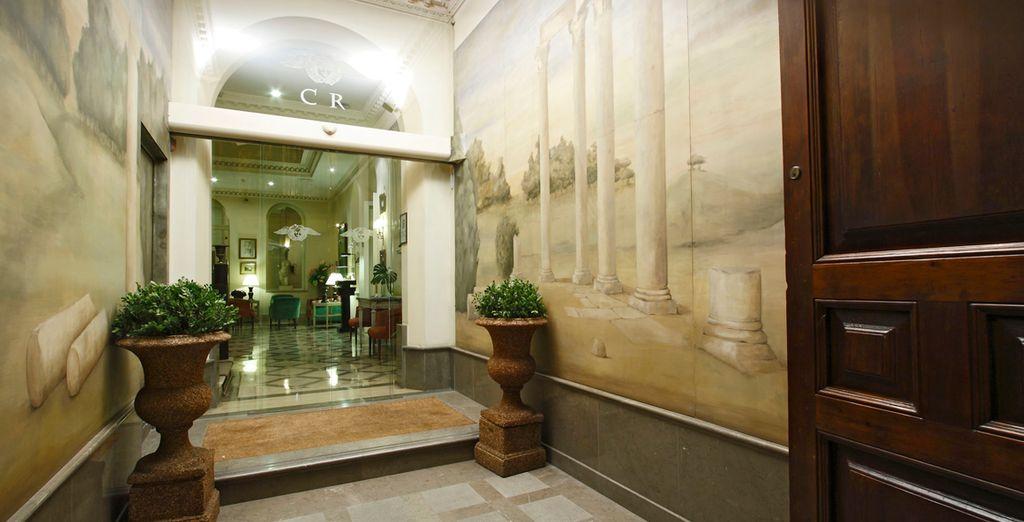Cada elemento en Bbou Hotel Casa Romana fue pensado para crear un sentido estético y práctico, tal y como los romanos entendían los espacios privados