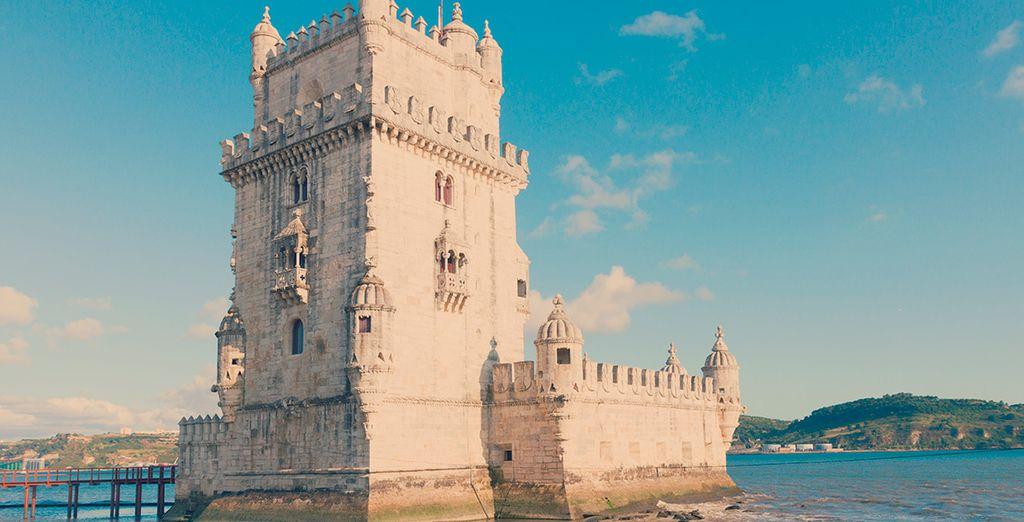 La hermosa Torre de Belém