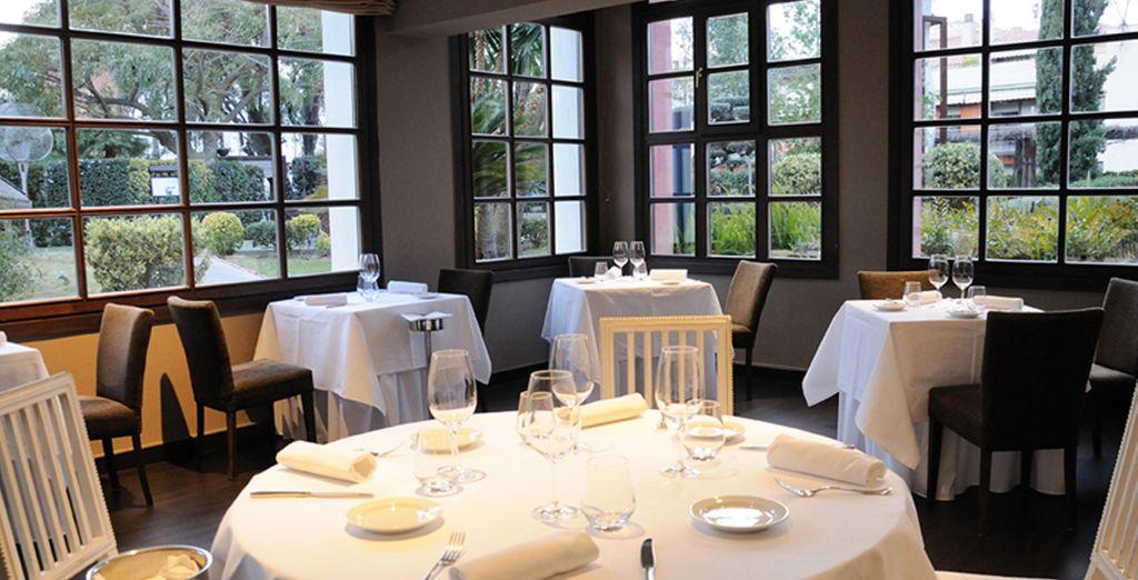 El Restaurante El Olivo es el restaurante principal del hotel