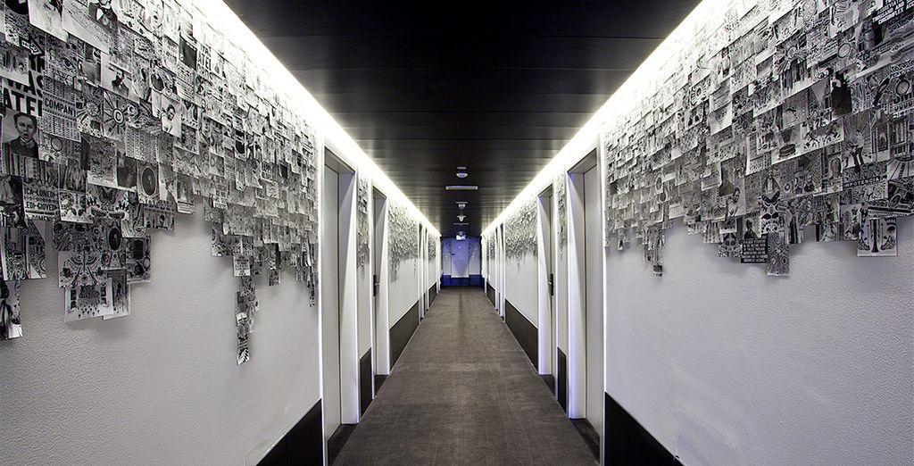 Vincci Bit 4*, un hotel donde el arte moderno también tiene cabida
