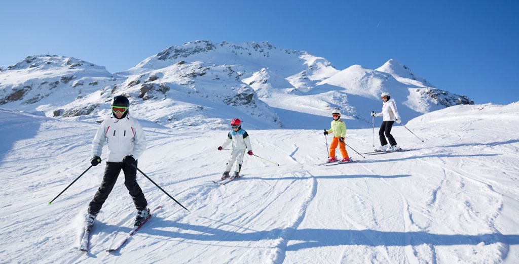 Ven a esquiar a los Pirineos franceses y disfruta