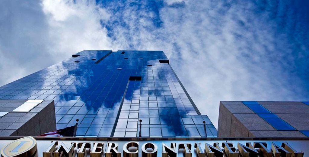 Desde lo alto de las 36 plantas del InterContinental Times Square 4*, en pleno Midtown Manhattan