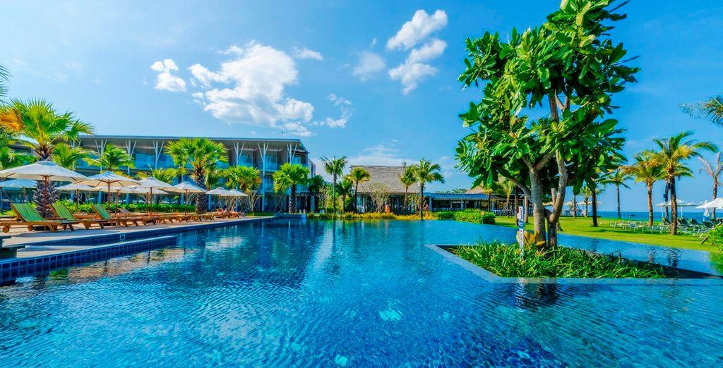 El Hotel The Sands 5* te da la bienvenida a Khao Lak