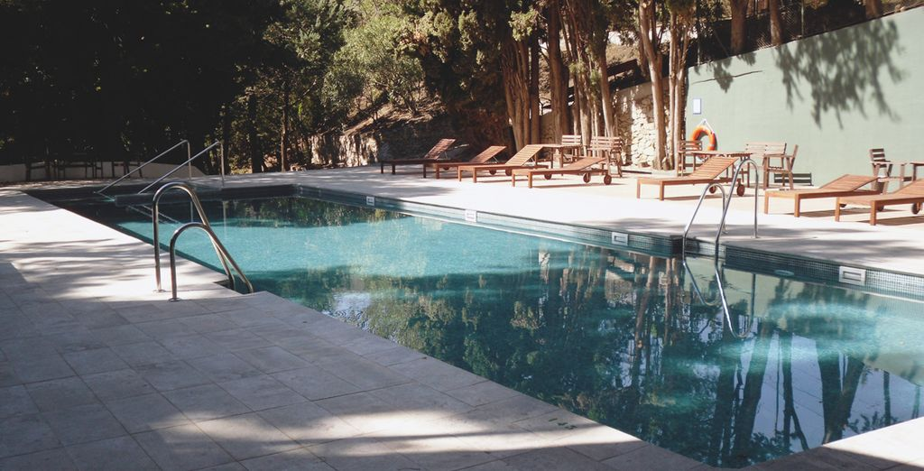 El agua de Lanjarón es considerada como el agua de la vida, de la salud y la eterna juventud