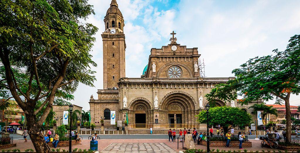La catedral de Manila