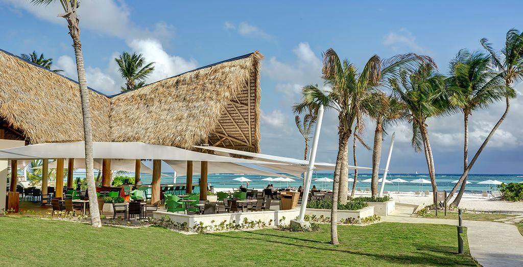 Un espectacular bar en primera línea de playa