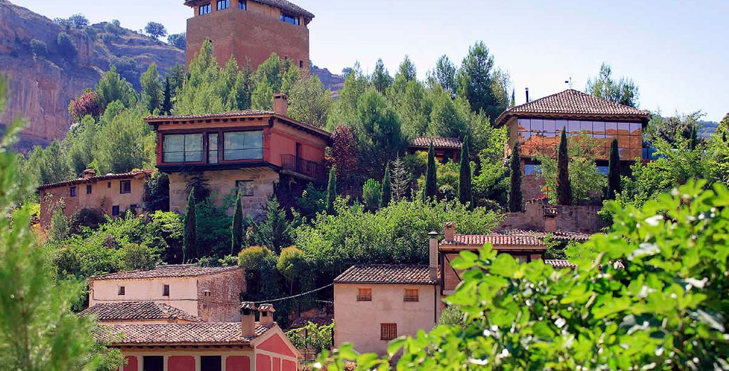 Un entorno incomparable en Posada Real Santa Quiteria 5*