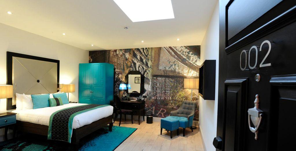 Bienvenido al placer del descanso en Hotel Indigo London Kensington 4*