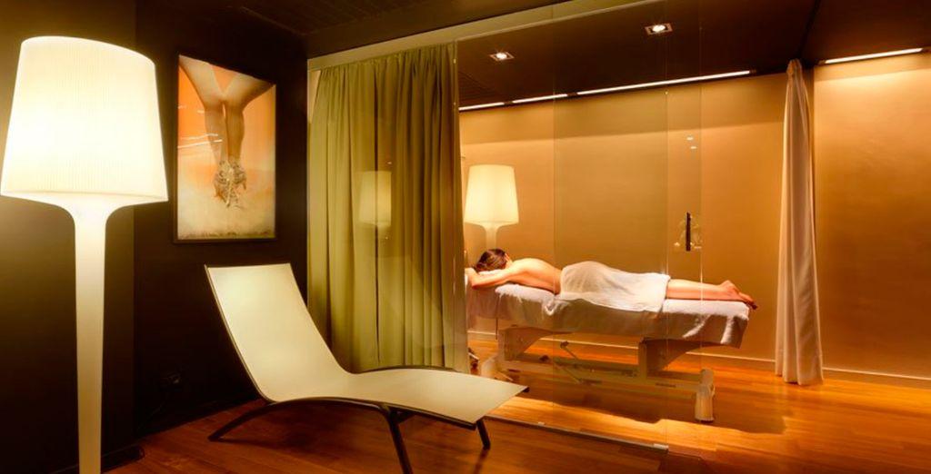Regálate un sesión de spa en el hotel