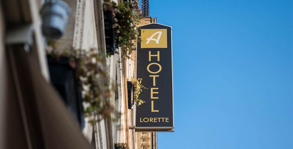Bienvenido a tu hotel en París