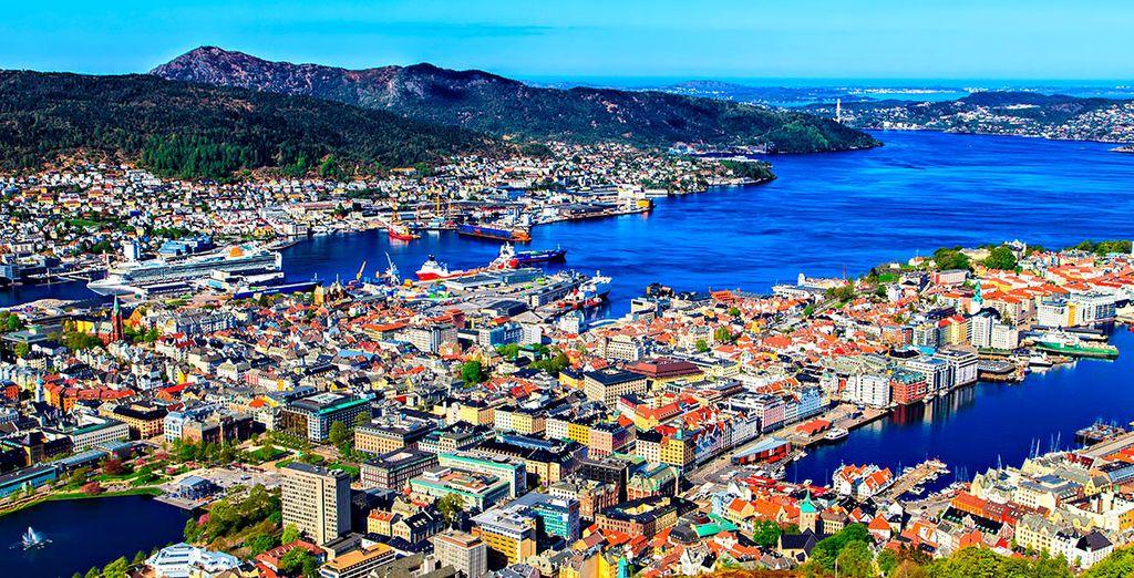 La bella ciudad de Bergen