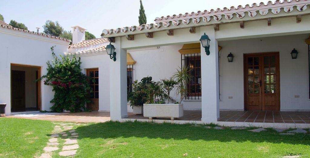 El restaurante La Ventilla, referente de la zona por su cuidada carta basada en productos autóctonos de la zona y de cultivo ecológico