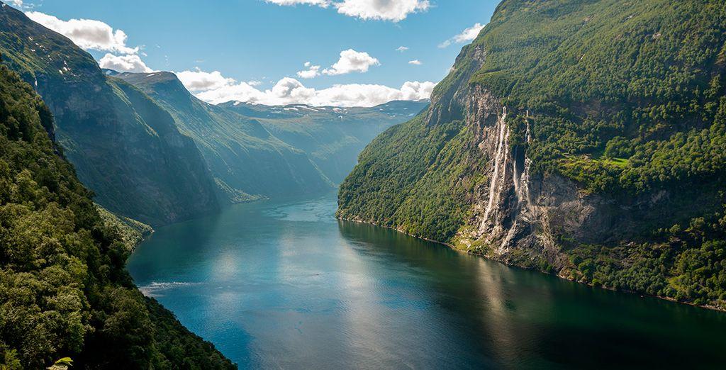 Un recorrido lleno de emocionantes paisajes te espera