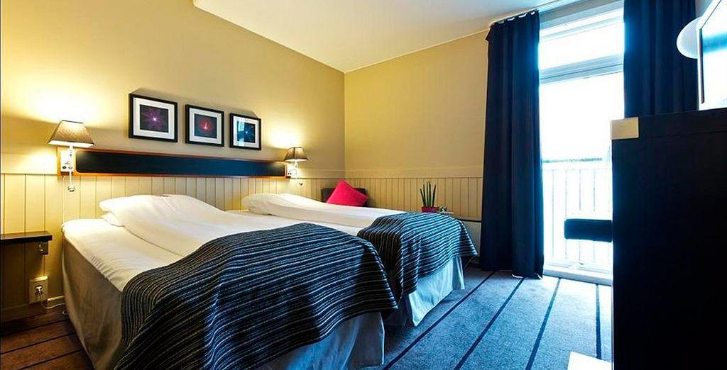 Comfort Hotel Holberg 3*, tu alojamiento en Bergen