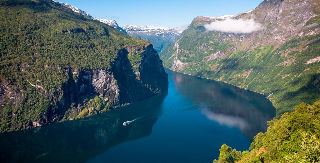 Geirangerfjord, una de las grandes atracciones de este viaje lleno de fantasía