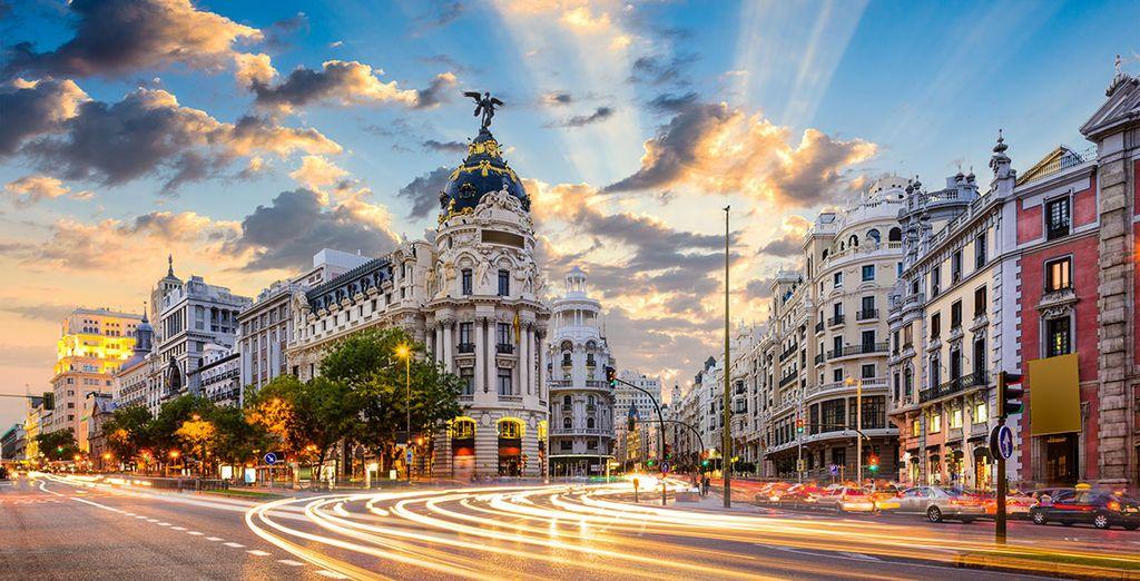 Visita la capital española