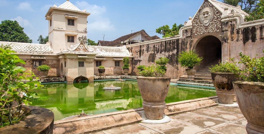 A tu vuelta a Jogjakarta visitarás el Palacio del Sultan