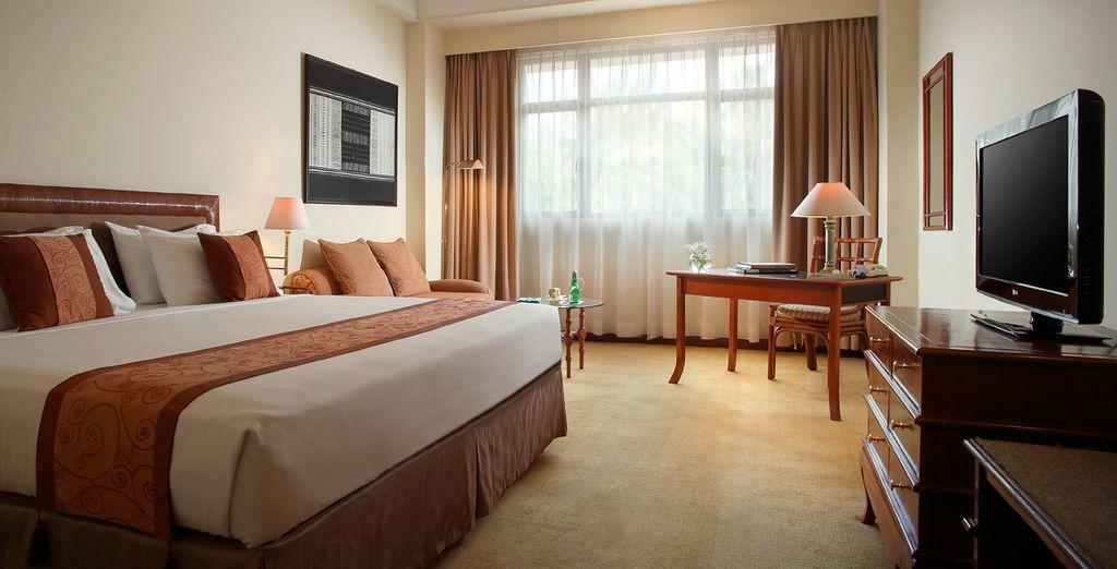 En Yogjakarta te alojarás en el Melia Purosani Hotel Yogjakarta 5*
