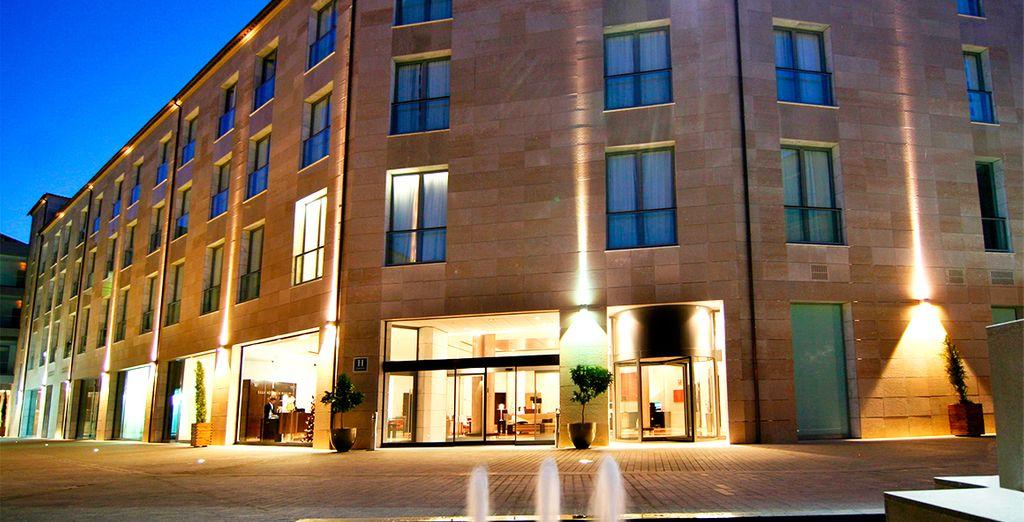 Gran Hotel Don Manuel se encuentra muy cerca de la Plaza Mayor de Cáceres