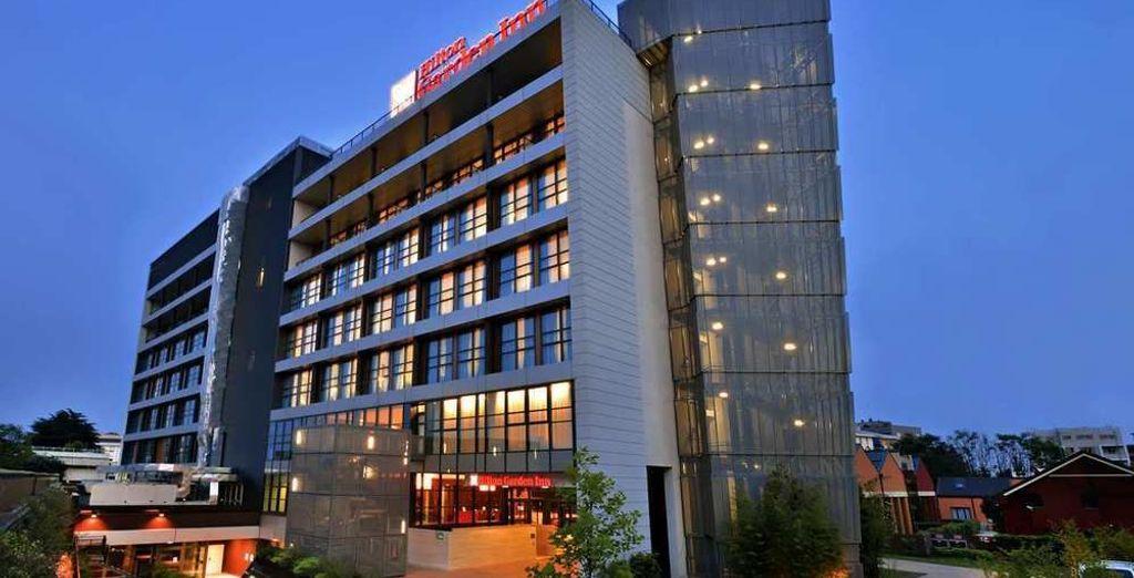 Hilton Garden Inn Milan North 4* te da la bienvenida